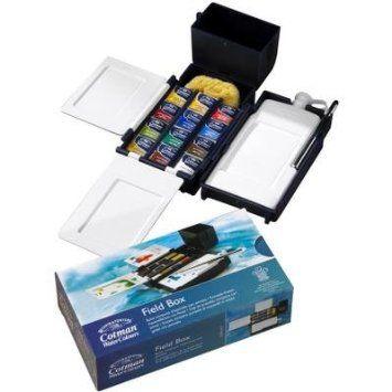 Amazon Com Winsor Newton Cotman Water Colour Field Box Set Of