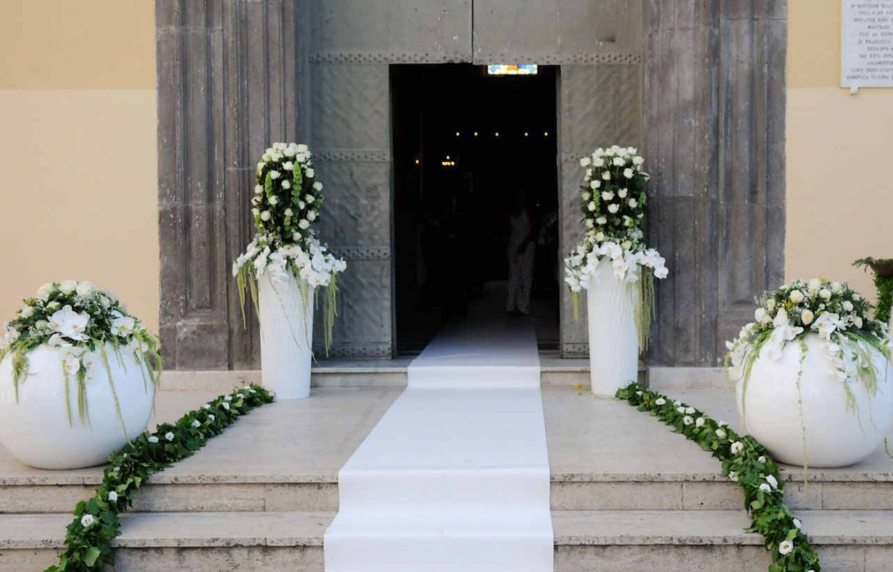 Famoso Allestimento Fiori Chiesa Matrimonio | allestimenti | Pinterest  AV42