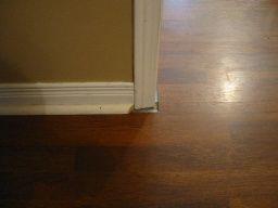 Gaps Under Door Casing Need Options To Fix Gap Left From