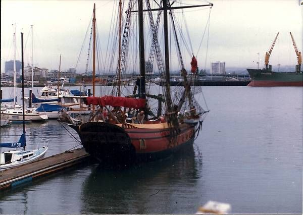 We are selling our beloved 91-foot square-rigger, the