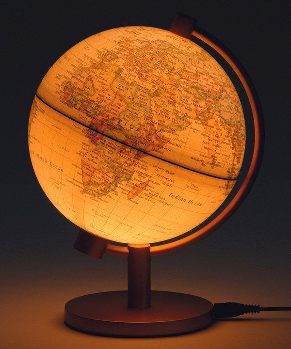 Take a look at this Antique Political 5'' Illuminated Globe on zulily today!