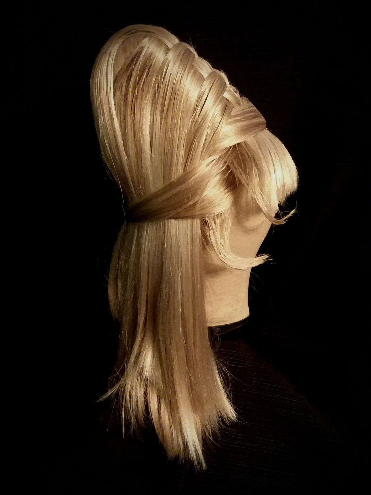 Star Trek The Original Series Yeoman Janice Rand Blonde Beehive Wig