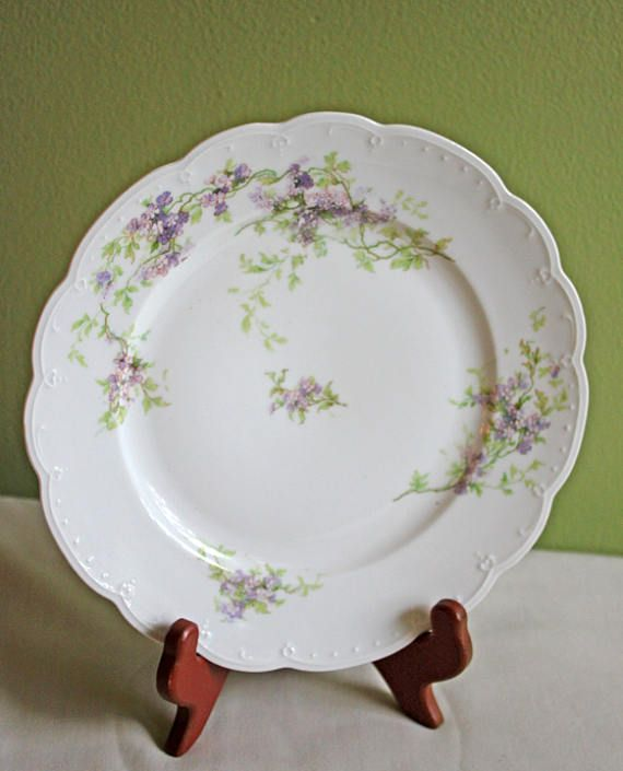Antique Austrian Salad Plate Replacement. M.Z. Austria & Antique Austrian Salad Plate Replacement. M.Z. Austria | Porcelain ...