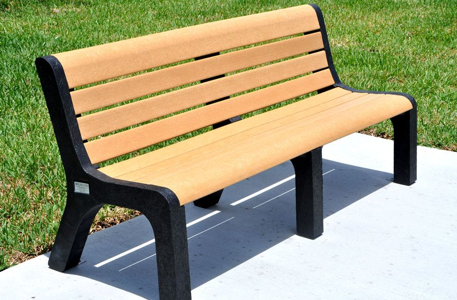 Benches| Recycled Plastic and Vinyl Benches|5-Ft. Recycled ...