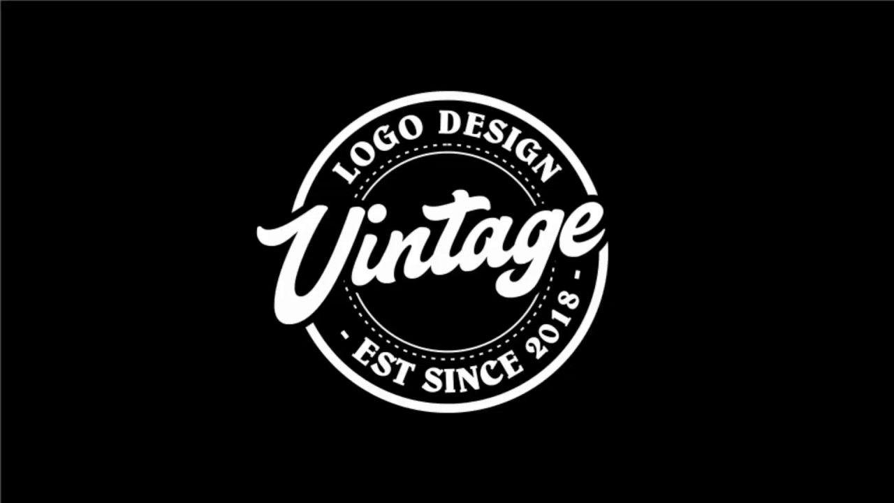Tutorial Coreldraw X7 Membuat Design Logo Vintage Kurang Dari 2 Menit Desain Logo