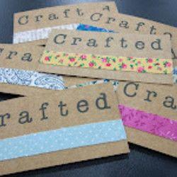 Tutorial how to make handmade business cards free crafts tutorial how to make handmade business cards free crafts handmade gift ideas reheart Images