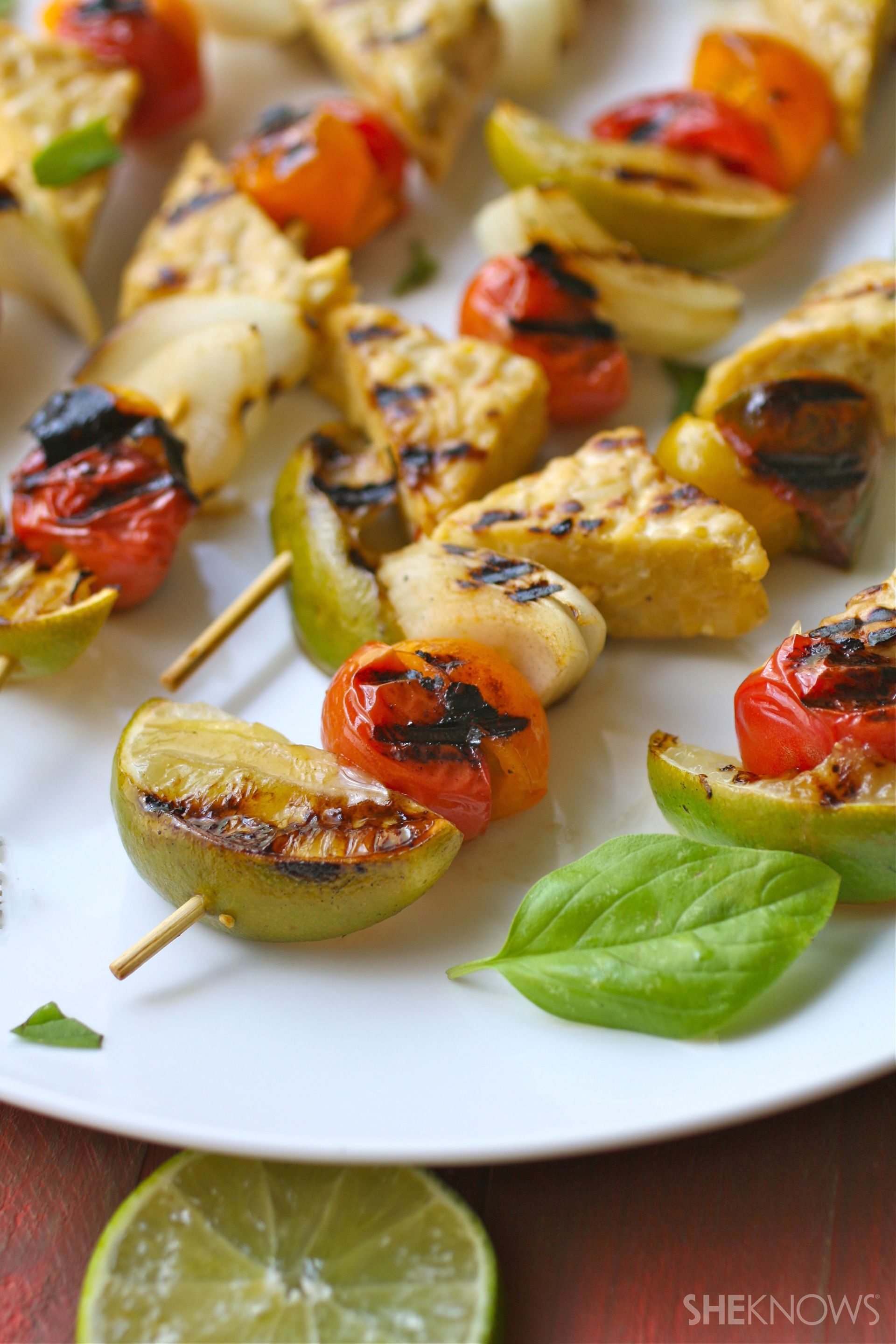 These Grilled Tempeh Skewers Prove Vegetarian Barbecue Can