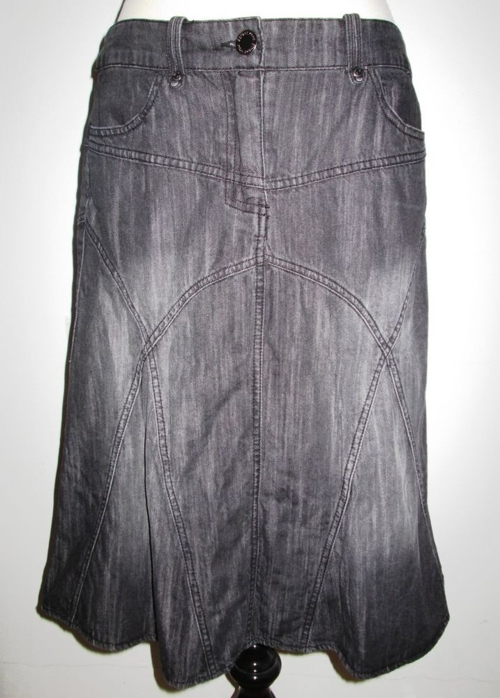 Street One Jeansrock dunkelgrau, ca.Gr.38         eBay   Jeans ... c1bd6b2deb