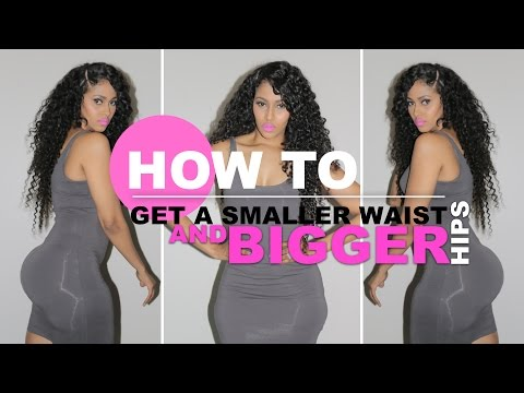 HOW TO GET A SMALLER WAIST AND BIGGER HIPS | CHINACANDYCOUTURE FITNESS - #Bigger #CHINACANDYCOUTURE...