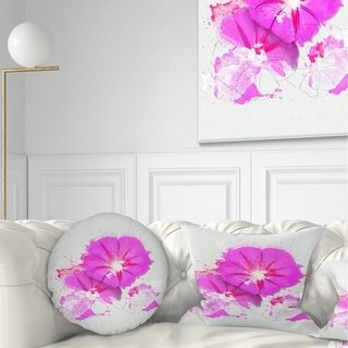 Online Shopping Bedding Furniture Electronics Jewelry Clothing More Floral Throw Pillows Flower Sketches Throw Pillows