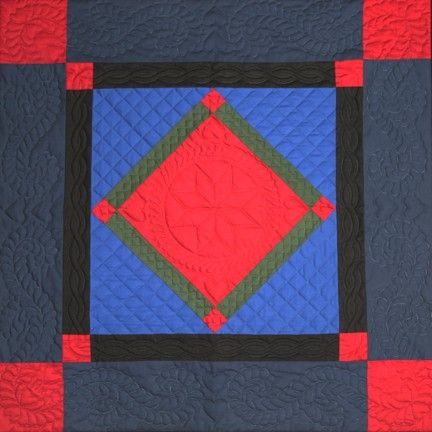 Center Diamond Amish Colors Wall Hanging For Sale | Amish Quilt ... : center diamond quilt shop - Adamdwight.com