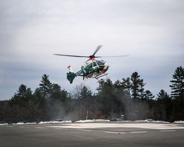 D-H Airborne Ambulance Warns of Drone Dangers - Valley News