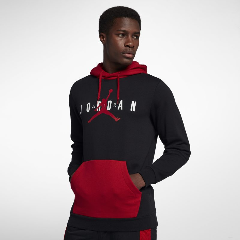 0daa07bc386c Jordan Jumpman Air Men s Fleece Pullover Hoodie - Black