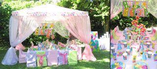 GLITTERING GATHERINGS: BARNEY PARTY