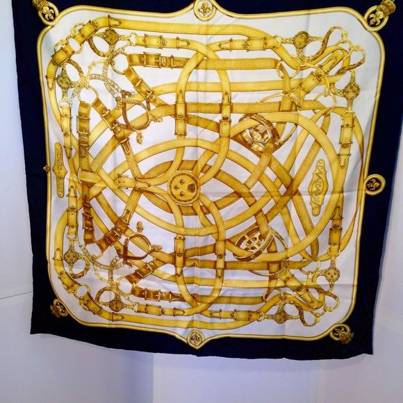 Selling this Vintage Hermes Silk Scarf in my Poshmark closet! My username is: kcford24. #shopmycloset #poshmark #fashion #shopping #style #forsale #Hermes #Accessories