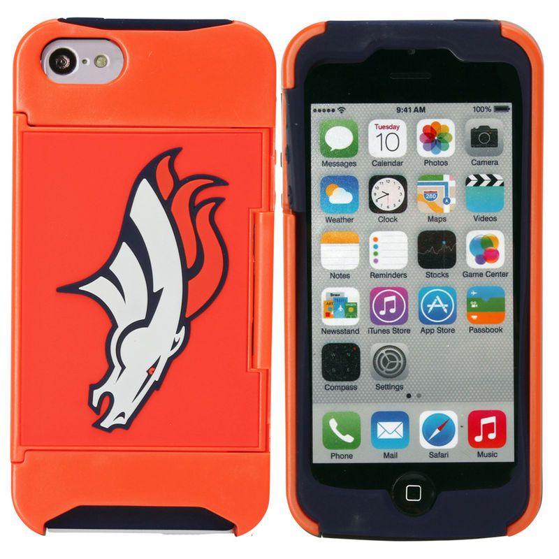 Denver Broncos iPhone 5 Credit Card Case