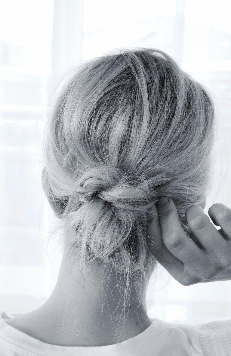 Low Bun Simple How To Tutorial Step By Step With Video Easy Bun Hairstyles Hair Bun Tutorial Low Bun Tutorials