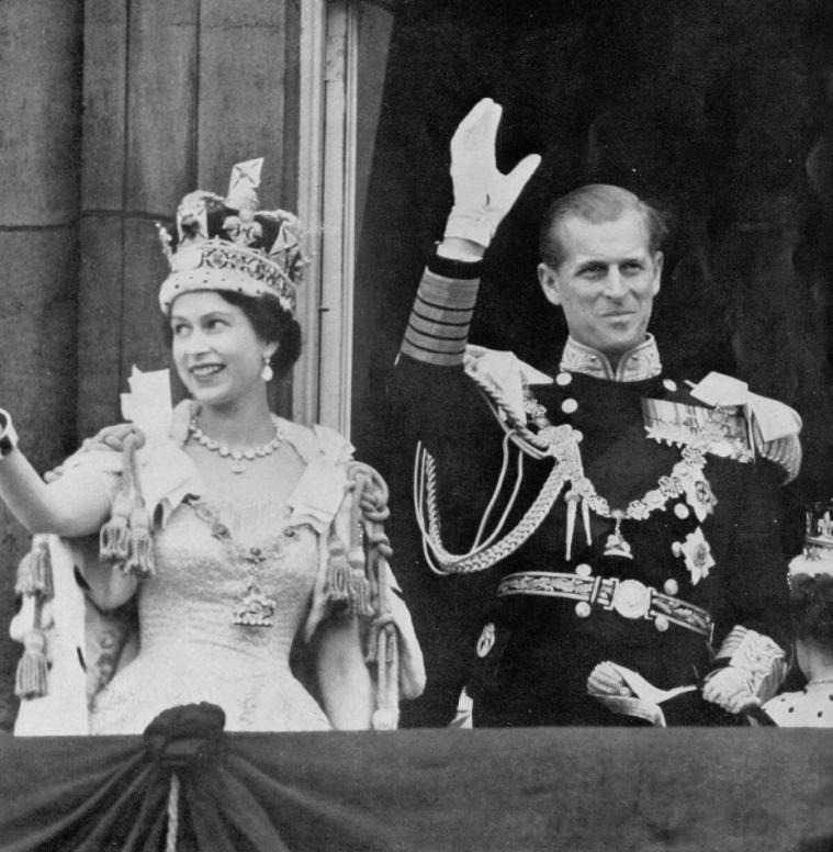 The Queen's coronation Queen Elizabeth II and Prince