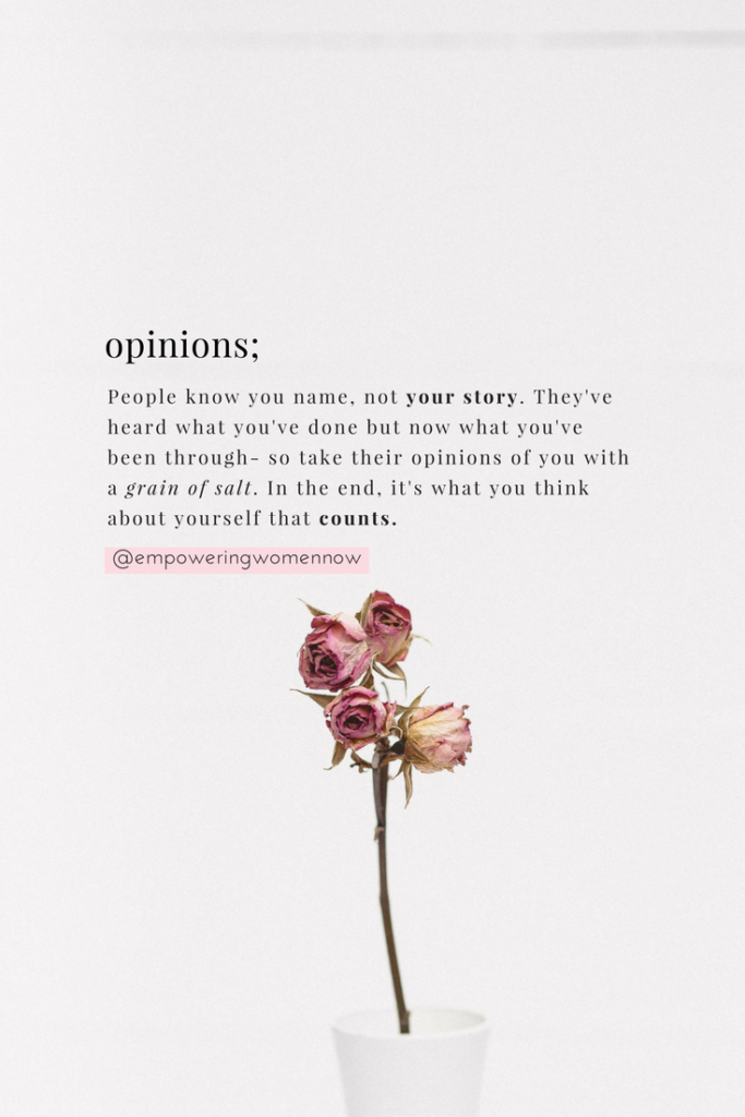How to Stop Letting Other People's Opinions Guide Your Life - Empowering Women Now