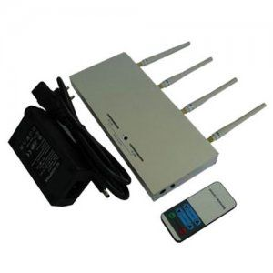 Cell phone jammer diy , Power Adjustable Remote Control Mobile Phone Jammer + 60 Meters