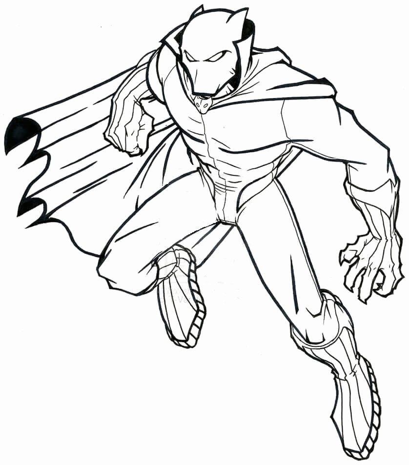Black Panther Coloring Page Luxury Free Printable Black Panther Coloring Pages Superhero Coloring Pages Superhero Coloring Avengers Coloring Pages