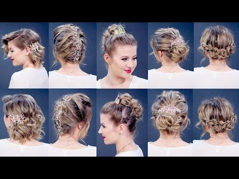Easy Hair Tools For Short Hairstyles Tutorial Milabu Youtube Short Hair Tutorial Short Hair Styles Easy Hairstyles