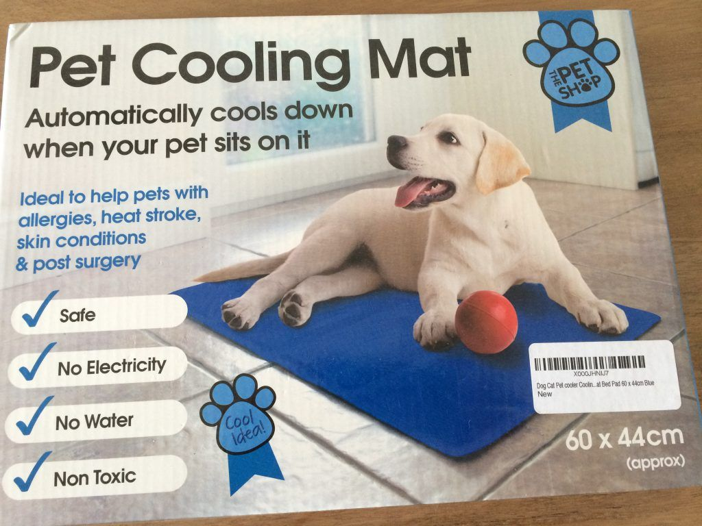 Pet Cooling Mat Borders Hate Hot Weather Keep Them Cooler With