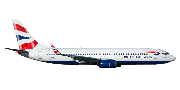 British Airways Plane Transparent Image Aircraft With Background Png
