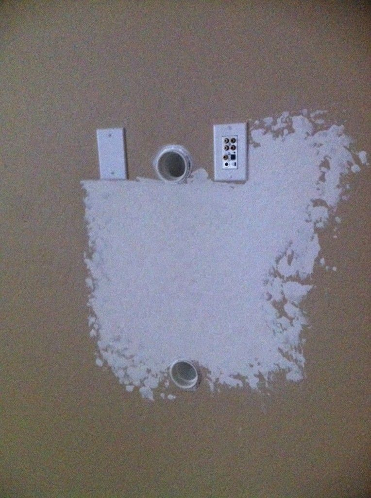 Hiding wiresgenius wall mounted tv hide wires lg