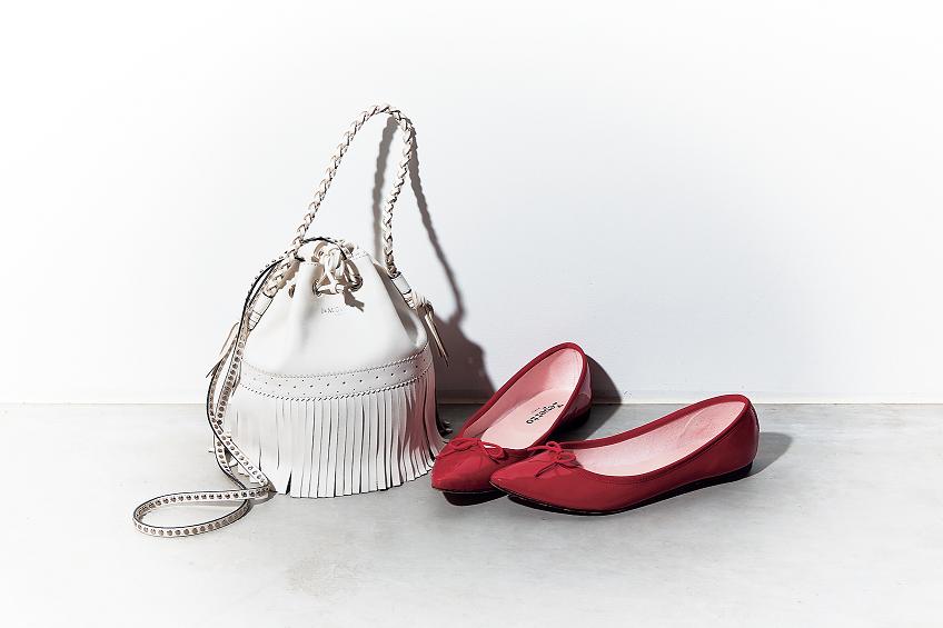 何にでも合う魔法の靴 バッグセット見つけた Classy クラッシィ