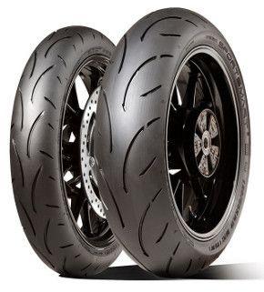 Pair 120 70zr17 58w Tl F 190 50zr17 73w R Dunlop Sportmax Sportsmart 2 Sportmax Dunlop New Tyres