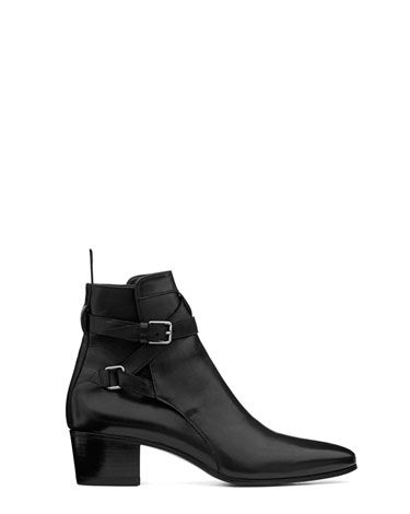 717a72b5f58 Miley's Must-Haves. Saint Laurent by Hedi Slimane boot, $970, 212 ...