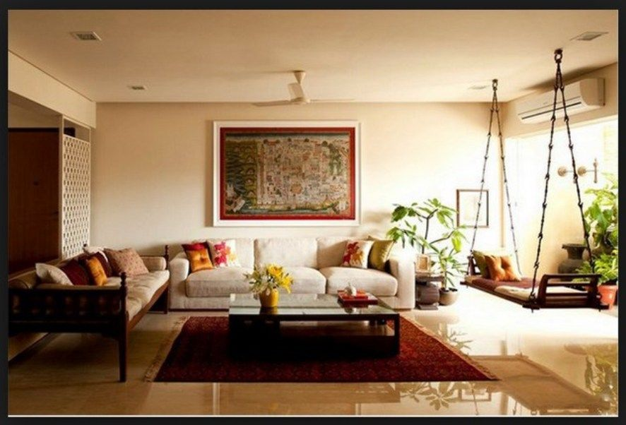 South Indian Traditional House Plans Google Search Indian Living Rooms Living Room Designs Indian Interior Design