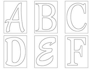 Crafting With Style Alphabet Templates Free Printable Letters Letter Templates Free