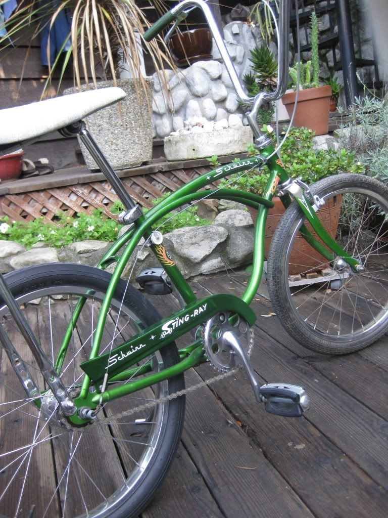8402cc847e5 1968 september Schwinn Stingray 3 speed with coaster brake | Rat Rod Bikes