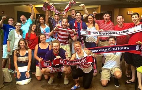 BHG's Syracuse location dressed up in their Red, White, and Blue to show support for Team USA during the 2014 World Cup!