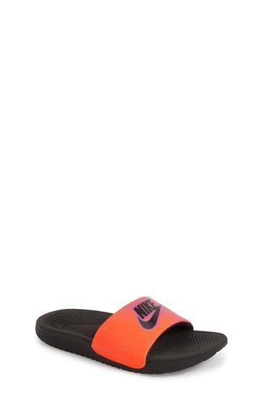 b3aa333ff Nike  Kawa  Print Slide Sandal (Toddler