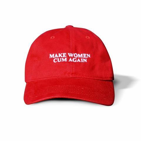 Make Women Cum Again Dad Hat