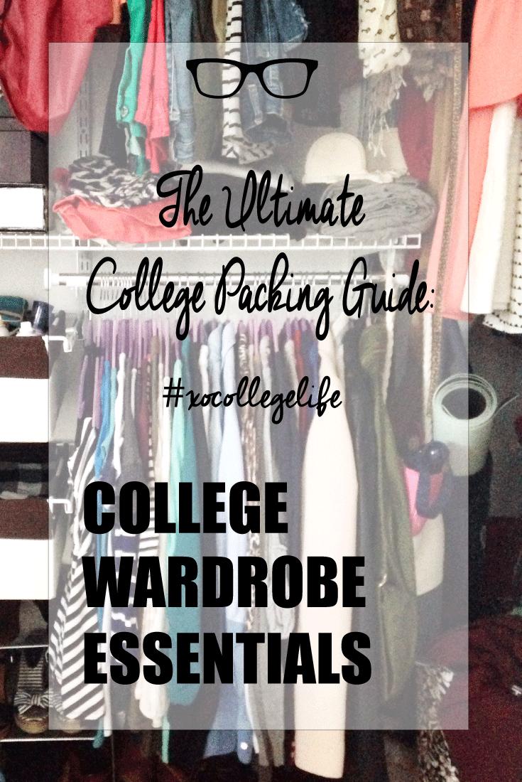 College Wardrobe Essentials thecollegelfestylist