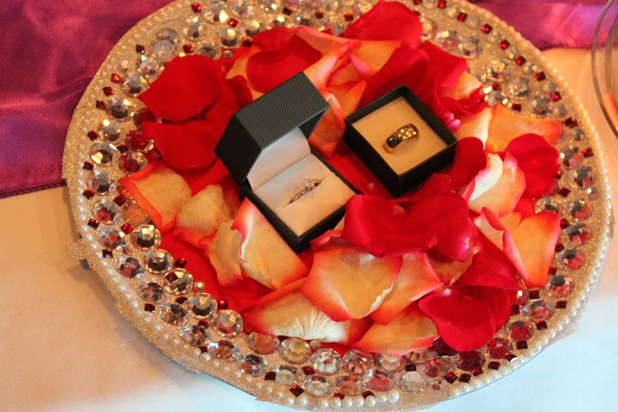 Creative Engagement Ring Platter Ideas Engagement ring