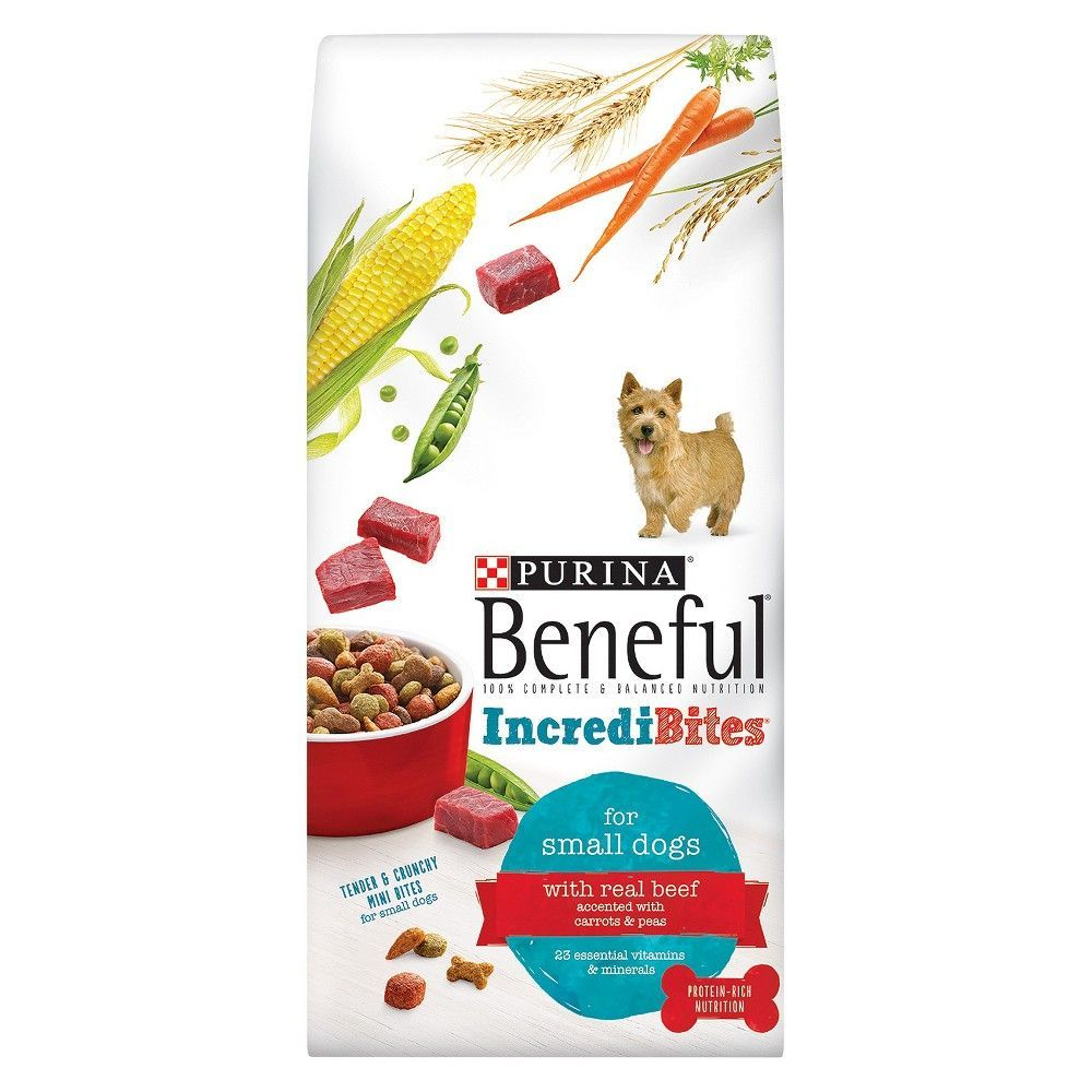 Purina Beneful Incredibites With Beef Flavor Dry Dog Food 15 5 Lb