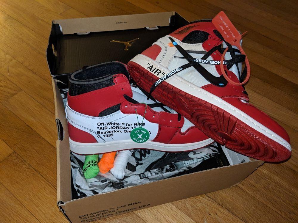 Air Jordan 1 Retro High Off White Chicago Size 13 Ds 100 Stock X