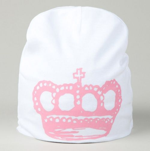 Hat with Pink Crown