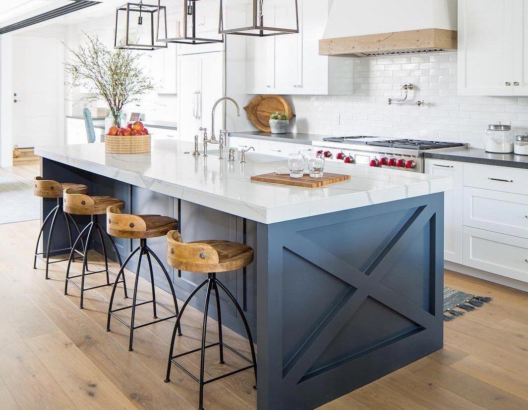 Industrialkitchen In 2020 Kitchen Island Design Kitchen Interior White Kitchen Design