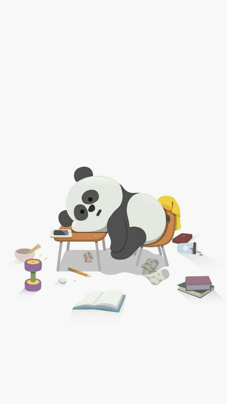 The Best Panda Cute Cartoon Wallpaper Pics