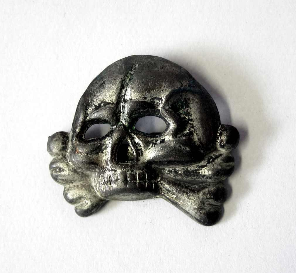 Now Available - Waffen & Allgemeine SS Jawless Skull Badge
