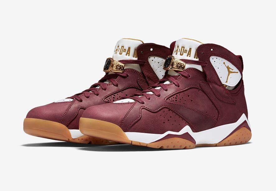 "Air Jordan 7 ""Cigar"" Colorway Team Red White-Gum Light Brown Style  Code 725093-630 Release Date June 20 629747f46"