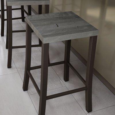 Wrought Studio Union City Bar Counter Stool Seat Height Bar