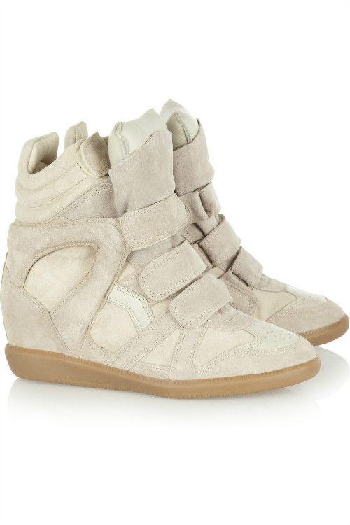 Toile Chaussures De Sport De Cale De Suède Isabel Marant Bobby UYriZkfDyB