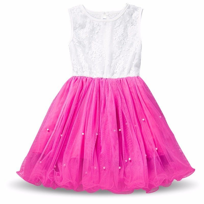 Girl Sequin Mesh Tulle TuTU Dress Kids Birthday Party Outfits ...
